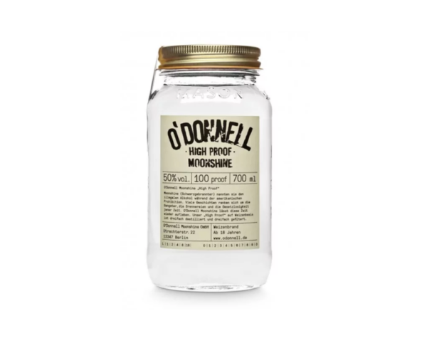O'DONNELL Moonshine High Proof 700ml