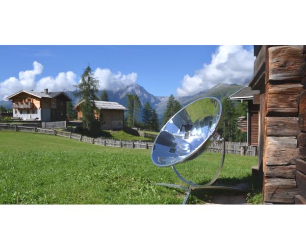 Premium Solarkocher mit Topf