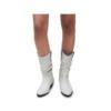 ABA - Stiefel SOFT LEATHER WHITE aus echtem Leder