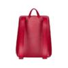CANUSSA URBAN RED Rucksack veganes Leder nachhaltig aus recycelten Plastikflaschen Rückseite