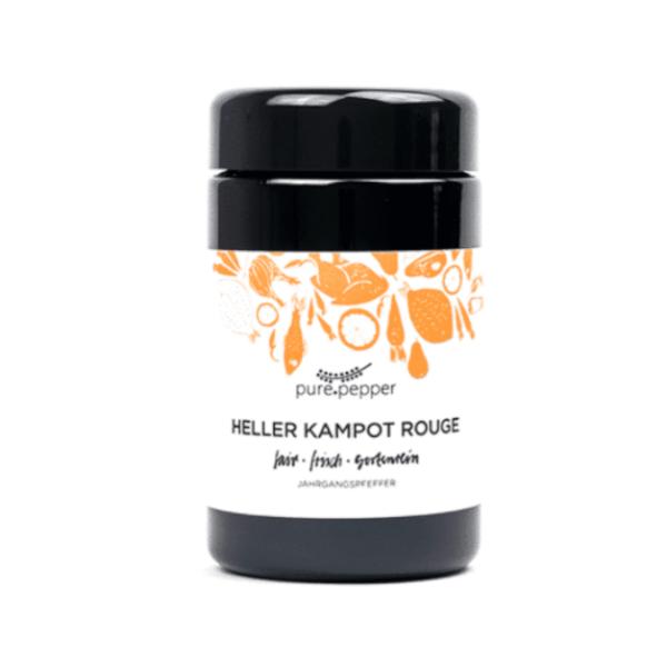 Pure Pepper Heller Kampot Rouge 40g, Ernte 2020