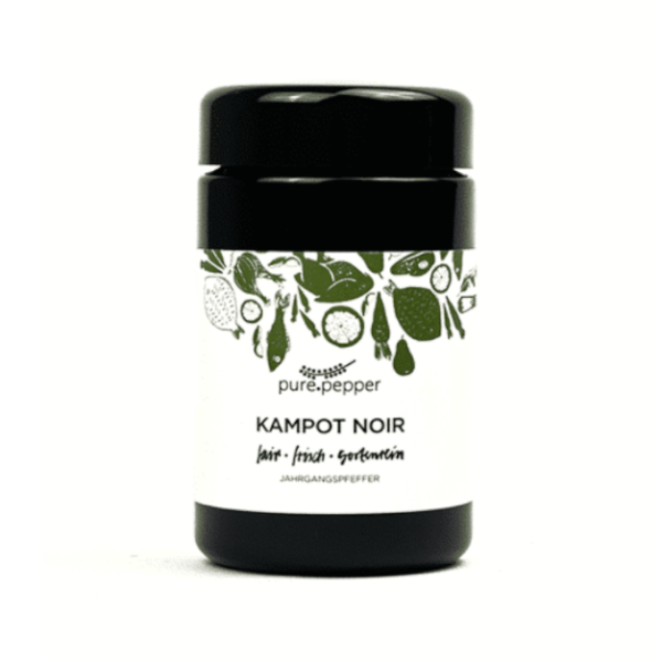 Pure Pepper Kampot Noir 40g, Ernte 2020