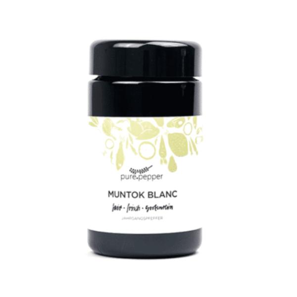 Pure Pepper Muntok Blanc 40g, Ernte 2019