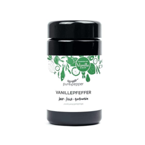 Pure Pepper Vanillepfeffer 40g, Ernte 2019