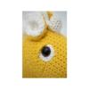 Crochetts Pferd MINI gelb Auge